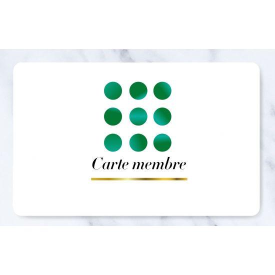 Carte Membre